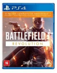 Jogo mídia física Battlefield 1 Revolution Original pra Ps4