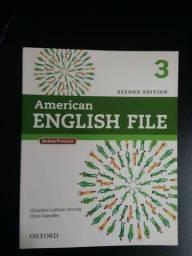 Livro de Inglês - American English File 3, 2° Edição- Student book