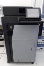 Título do anúncio: Impressora A3 Monocromática multifuncional HP Mfp M830