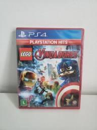 Jogo Lego Marvel Vingadores Ps4 Lacrado