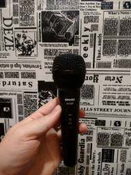 Microfones Shure SV 200 e Lesson SM 58
