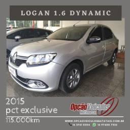 Título do anúncio: Renault Logan Dynamique 1.6 8V