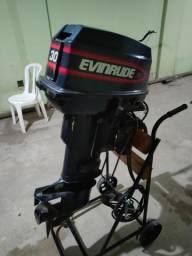 Título do anúncio: Motor popa Everund 30HP Elétrico