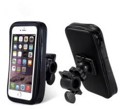 Suporte De Celular Prova D?Agua Para Moto ou Bicicleta Impermeável