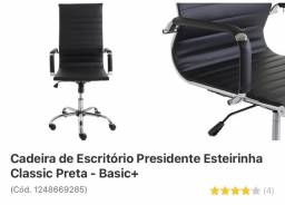 Cadeira de escritório semi nova