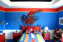 Pintura Super Heróis *