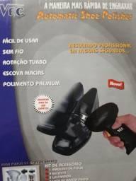 Título do anúncio: Polidor de sapatos na caixa semi novo só $80,