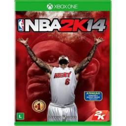 NBA 2k 14 Xbox one semi novo.