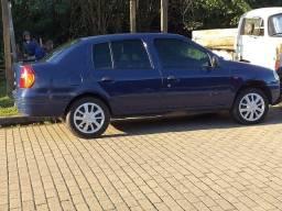 Título do anúncio: Carro Renault Clio sedan RT 2002 completo
