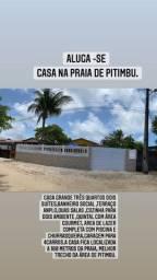 Título do anúncio: Aluga se casa na praia de Pitimbu