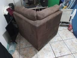 Título do anúncio: Canto de sofá estofado marron