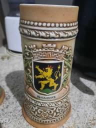 Canecos de porcelana antigo