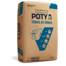 Cimento Poty R$ 29,00 - c/entrega