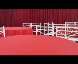 Título do anúncio: Mesas e cadeiras para salão de festa
