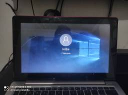 Notebook Asus vivobook touch scren s200e