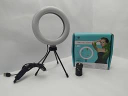 Ring Light de mesa  com MINI tripé