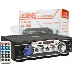 Título do anúncio: Mini amplificador le-706