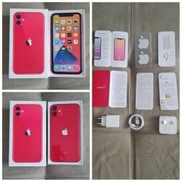 Iphone 11 de 256Gb Exclusivo!!! Product Red,  Vendo e Troco V/T. (LEIA!!!)