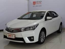Toyota Corolla XEI 2.0 2017 Top Completo Branco Pérola + Revisões - 2017
