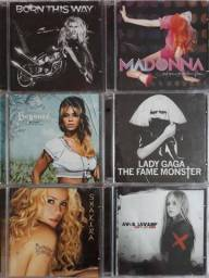 CD's originais + DVD divas variadas