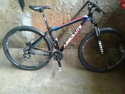 Bicicleta aro 29 absoluto 24 macha freio idralico