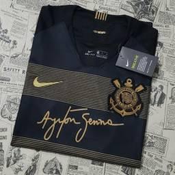 Camisa Corinthians III 18/19 Senna