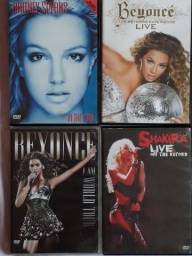 DVD's Originais [Divas variadas]