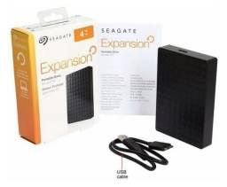 HD Externo Seagate Expansion 04 TB (4000 Gb) Xbox,PS4 ou PC