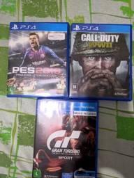 Vende-se 3 jogos de PS4 em excelente estado!