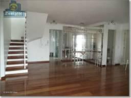 Cobertura com 3 dormitórios à venda, 232 m² por r$ 1.450.000,00 - jardim - santo andré/sp