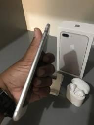 IPhone 7plus 128GB Silver