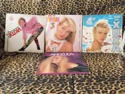 Discos Xuxa e Angélica anos 80