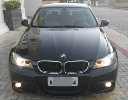 BMW 318i Sport c/ Kit M3 2012 Interior Caramelo - Ac troca - 2012
