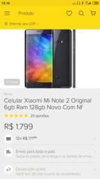 Xiaomi mi note 2 o melhor q já vi e usei até hj