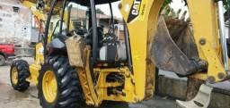 Retro Escavadeira Caterpila 416E