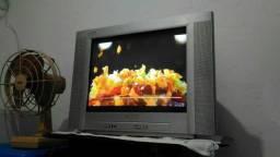 Tv Philips 21 tela plana