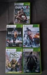 Jogos Originais de Xbox 360 vendo ou troco