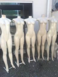 Manequins 5 corpo todo super conservado