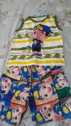 Conjunto infantil lucas neto