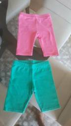 Shorts de malha - 2 anos