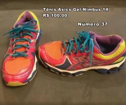 Tênis Asics Nimbus 14, Tênis Etnies, Sapatilha, Sandália e Sapato salto Arezzo e Miezco