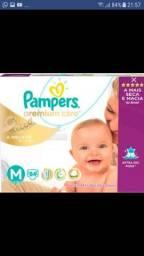Promoção Fraldas Pampers