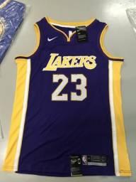 Camisa Oficial Los Angeles Lakers LeBron James