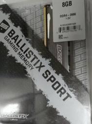 Memória ddr4 ballistix 8gb