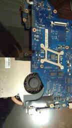 Placa mãe Notebook rf 511 Samsung + i5