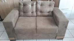 Sofa de 2 lugares 1m40cm largura
