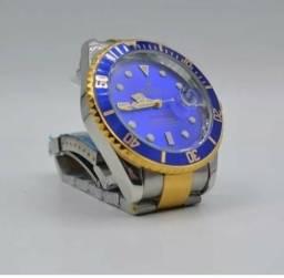 Relógios rolex aço super promoção
