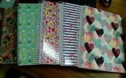 Caderno 10 matérias (Cada)