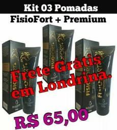 Pomadas FisioFort + Premium Bio Instinto , Frete Grátis p/ Londrina