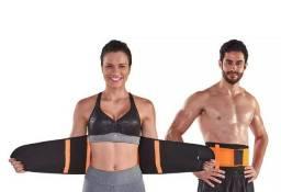 Cinta Modeladora Hot Belt Power - auxilia na redução de medidas